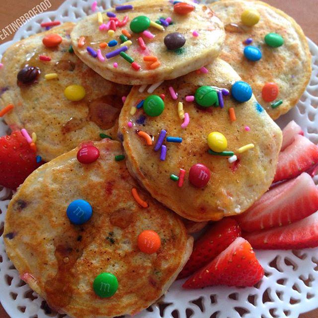 Funfetti Protein Pancakes